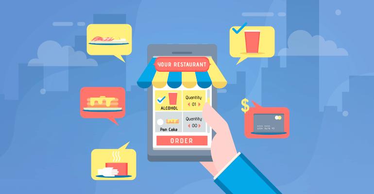 app like postmates revenue model