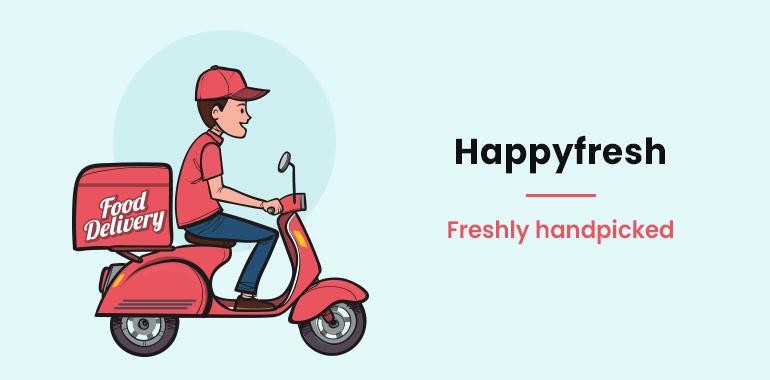 developing app like Happyfresh