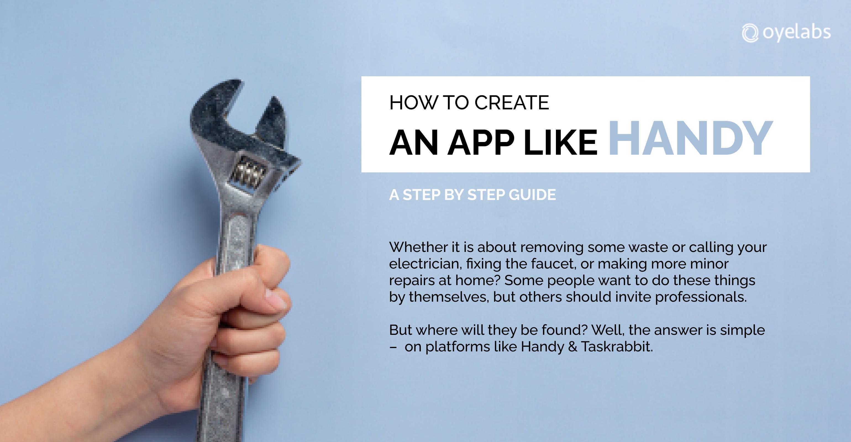 How to create an app like handy