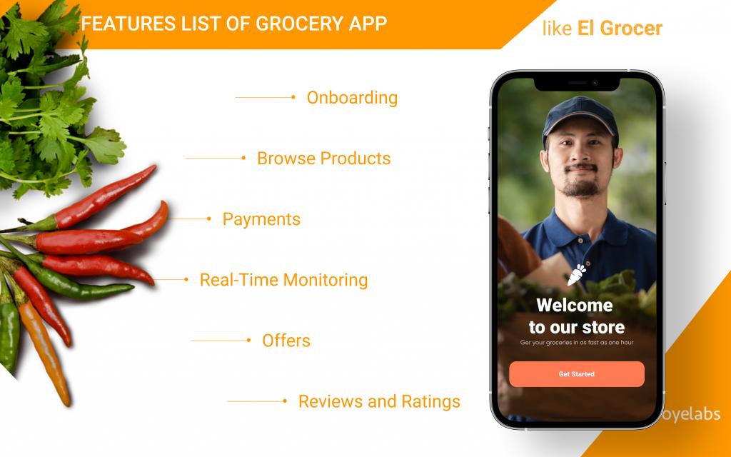 features list el-grocer