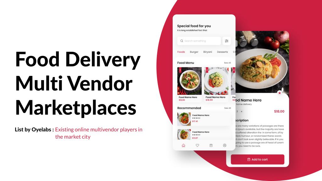 FoodDelivery Multivendor Marketplace