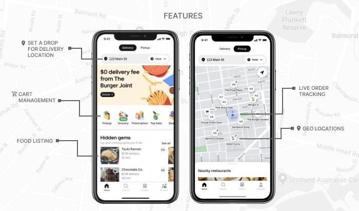 UberEats features list
