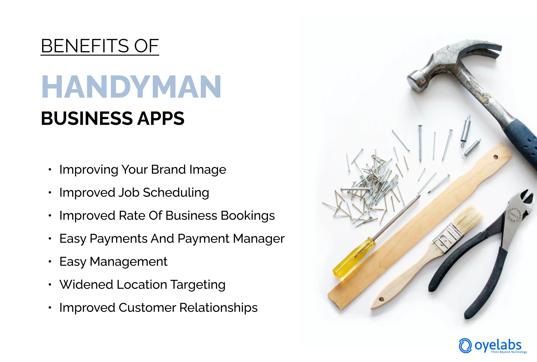 Benefits of a Handyman Business App